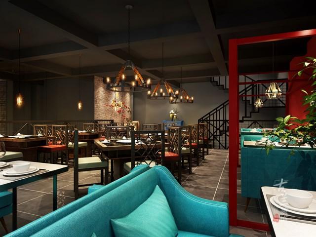 成都200平米中餐厅设计案例,成都中餐厅装修公司-《芋儿鸡》