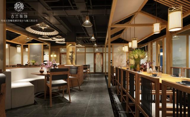 项目名称:成都蓝城悦杏餐厅 项目地址:四川省成都市青羊区槐树街35号