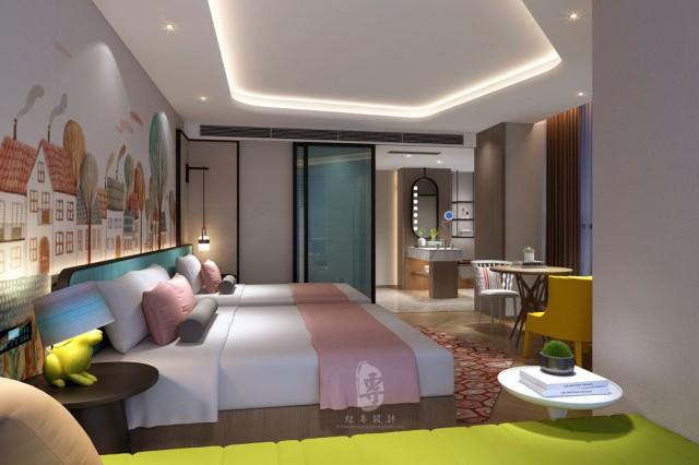 珠海星级酒店设计公司|唐道.博丽雅布国际酒店