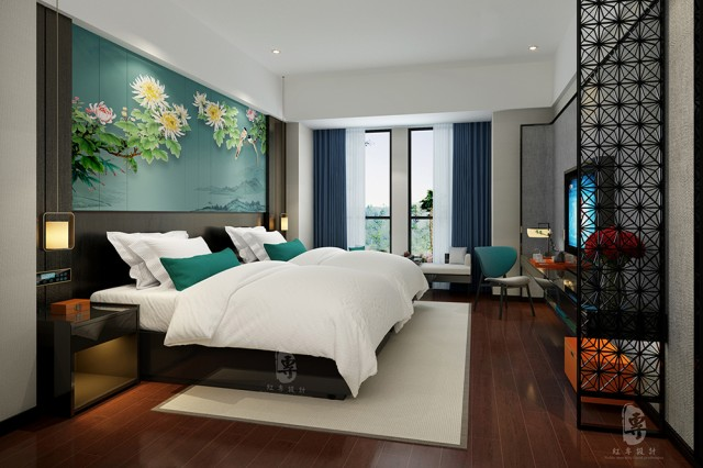 吉林酒店设计公司|君子兰国际大酒店