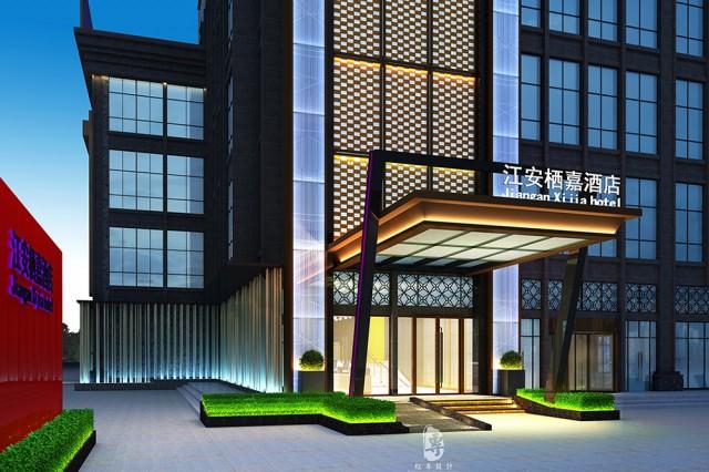 项目名称:江安栖嘉酒店  项目地址:宜宾市江安县南屏首座(夕佳大道南一段与南屏大道中段交汇处)  红专设计顾问公司,是一家专业从事酒店设计的酒店设计公司。正所谓术业有专攻,经过多年的发展,红专设计已经拥有一个完整的酒店设计业务体系,案例、有关设计思路都有了成熟的表现。