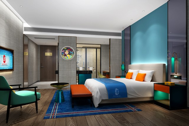 威海酒店设计公司|江安栖嘉酒店