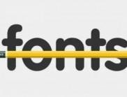 几个比较实用的字体设计小技巧