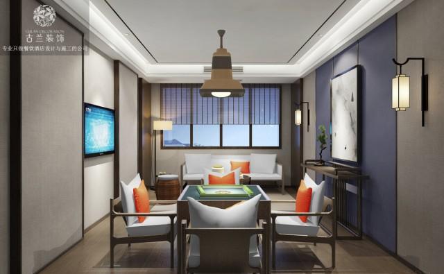 《汉源泷湾国际大酒店》雅安酒店设计|雅安商务酒店设计
