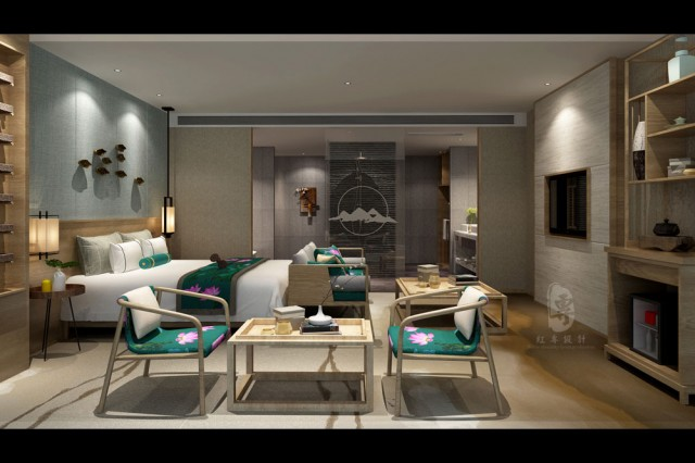 陕西精品酒店设计-红专设计 | 逸生活精品酒店
