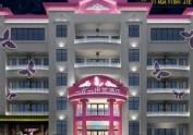 峨眉山一花一世界主题酒店设计|乐山