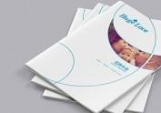 《HUGE LOVE》母婴类宣传册设计