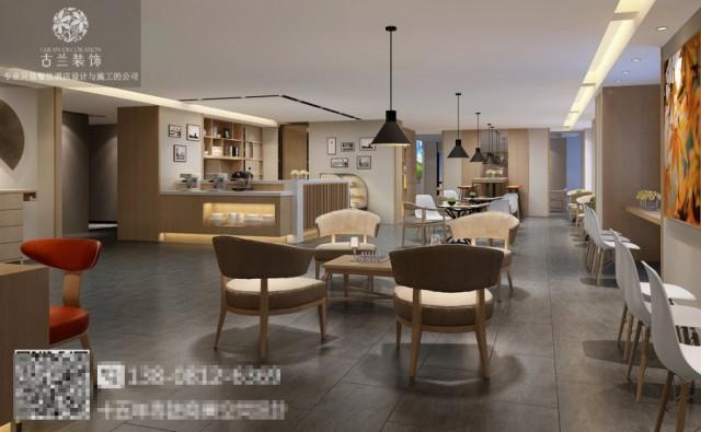 整个空间的设计,让酒店从传统商务中跳出来,用线条感和质感非常的各种材料在有限的空间中融合,让酒店拥有一定的格调、个性,增加了酒店的室内空间趣味性和档次。