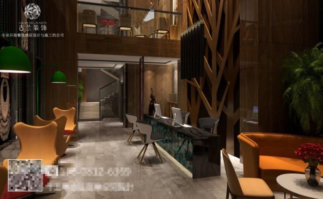 该项目地处贵州省瓮安县的红军路锦美时代广场,是瓮安最繁华的地带,艾途城市精品酒店设计是由著名酒店设计公司古兰装饰倾力设计。在本精品酒店设计中、古兰装饰使用港式和贵州苗族元素相结合的设计手法,使整个精品酒店简洁时尚、同时具有独特的国际文化范。