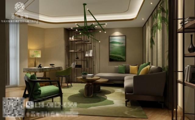 合肥专业酒店设计之门头大厅设计要有仪式感