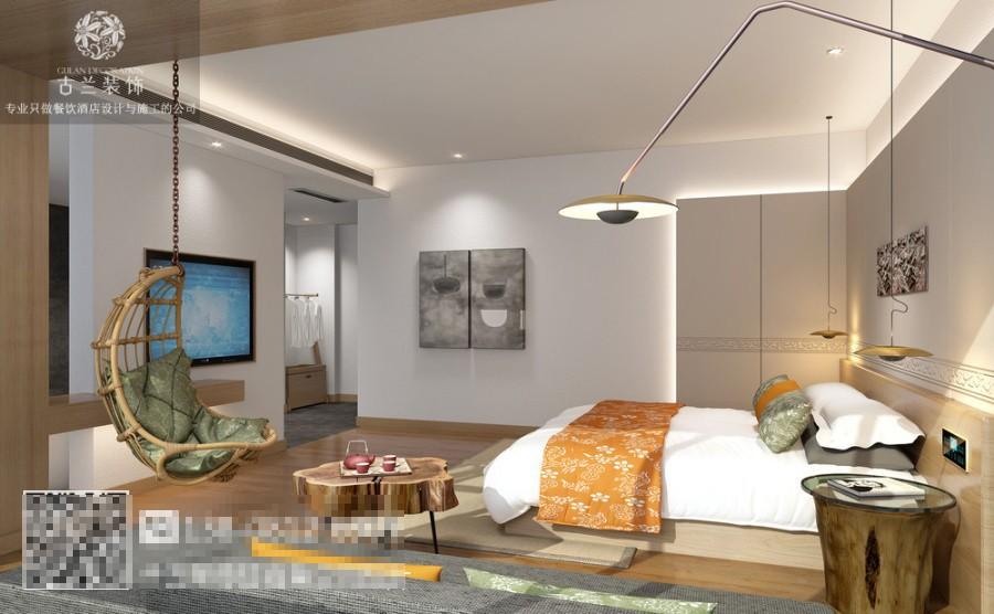 太原度假酒店设计公司-玉溪望湖度假酒店设计装修图