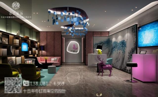 南昌主题酒店设计公司|峨眉山一花一世界