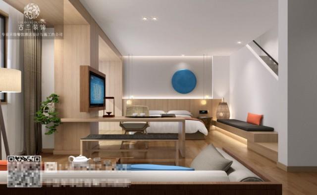 云南玉溪酒店设计公司-望湖度假酒店装修效果图