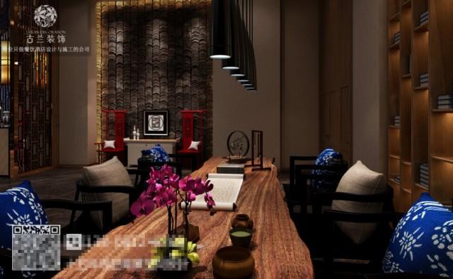 东方文化不是中式民族元素的具象运用,而是原有符号抽象画,传统元素现代演绎,取其意思、取其境、用其韵,让酒店顾客在简洁舒适中,感受传统东方文化与国际时尚交替碰撞的意蕴。