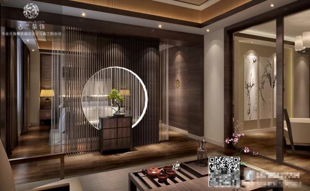 天津精品酒店设计装修公司-普众禅韵精品酒店效果图