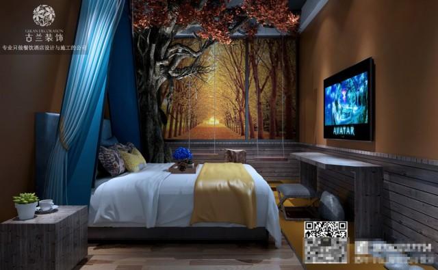 主题酒店的室内设计是基于它是纯艺术品还是实用艺术品。一旦布置好了,它的形式,颜色,质地和其他因素都与周围空间中的许多因素有关。形式和空间不仅相互约束和反映,而且还创造整体空间的区域特征。