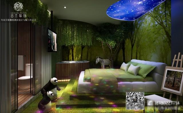 墙面——酒店的墙面材料更常见于乳胶漆。一般,应选择米色和象牙色等暖色调。对于墙面,您还可以运用一些特征菜肴或绘画进行装修,这样更有层次