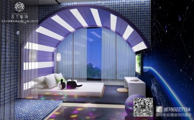 济南主题酒店设计-专业酒店设计公司排名-恋念不忘情侣酒店效果图