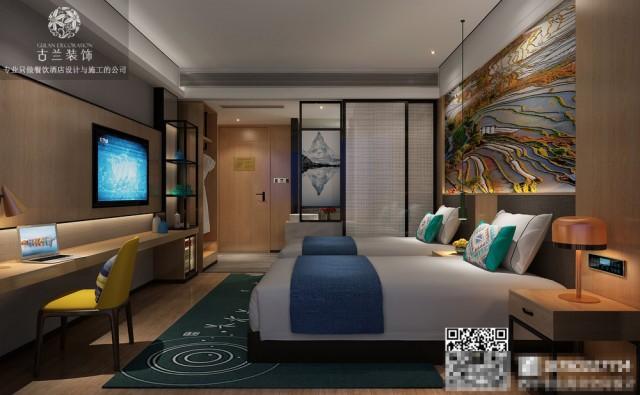 济南专业酒店设计公司案例-泸州叙永慢生活精品酒店装修效果图
