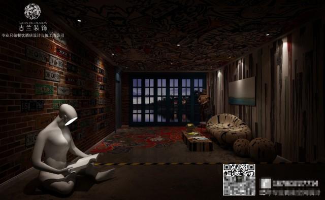 遇尚艺术主题酒,是郑州酒店设计公司根据用户体验运用平凡的材料打造出来的不平凡的酒店。酒店外观极具昭示感,从远处都能感受酒店的艺术性质。