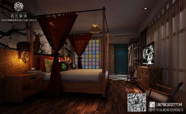 不同形式的房间彰显了它的多样性 不同的主题却不影响为客人带来温柔和释然的感觉
