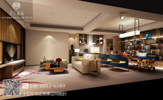 汉中酒店设计公司|M-one精品酒店