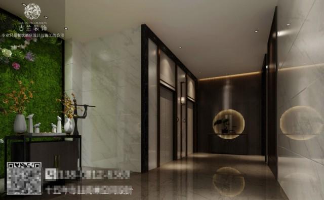 空间宽敞的酒店大堂采用落地窗的形式,让客人从视觉上就能感受到花园的氛围,有隔离外界的喧嚣回归尘俗的感受。是酒店也是花园,是一处让人身心愉快的场所。餐厅也采用落地窗的形式,客人在就餐的同时也能看到花园的风景,同时也增强了室内的采光效果。在酒店中也有回归的感受,推开窗,就是一片花园,午后阳光尽洒,悦赏风景,品味生活。