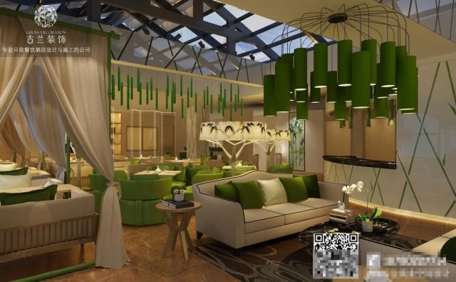 酒店的功能一应俱全之余,绿竹也随之可见,而且还很有设计感。比如,外观、大堂、走廊,客房、洗手间……