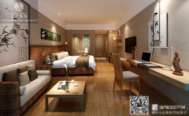 广州酒店设计公司-品竹左岸春天大酒店设计-梅州专业主题酒店装修案例
