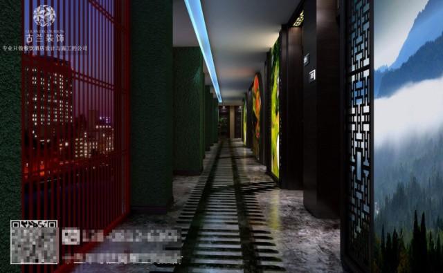 """第一:大厅和公共过道、以读四川为重要设计核心。第二:开发了隐蜀房型、来服务有""""中隐隐于市""""隐者。第三:古兰装饰设计开发了新蜀房型、来服务时尚的文化爱好者。"""