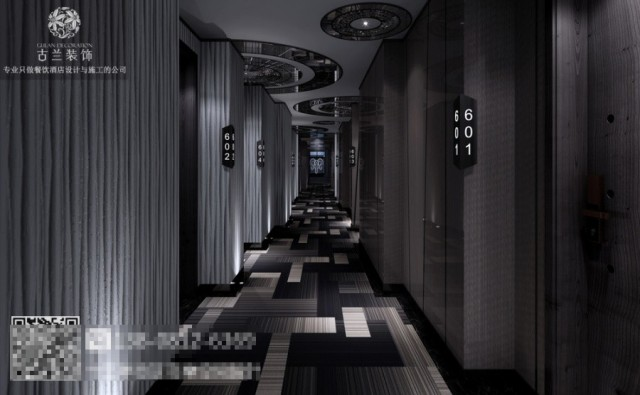 商洛酒店设计装修公司-云朵假日精品酒店装修图