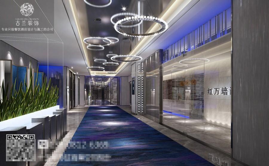 通过设计团队的努力我们决定用绿墙重新定义酒店的功能属性,在这里你不仅可以享受到五星级酒店的服务、体验豪华精品酒店的精致与完美、还能在艺术品一样的空间关系中品味过往、追忆的流年。在这里绿墙代表了人们精致外表下内心深处的那一抹绿,那一抹绿代表了逝之不去的青春、那一抹绿包含了人们对未来的期待、那一抹绿是儿时的门前柳树的倒影、那一抹绿包含了太多太多.
