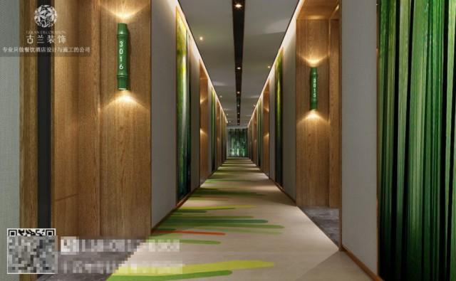 黑龙江专业酒店设计装修公司-张家口竹子国际大酒店设计