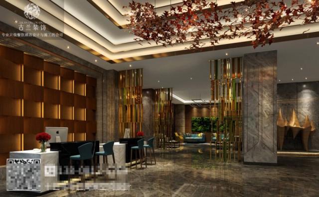 独特的装饰也让整个大堂设计更加饱满,让纯粹的空间也有格调。开放式的的大堂吧,其功能更加多样化,客人可以在此休息,谈事,也可以在此享受下午茶。影院设计的加入,让整个酒店更加贴近生活,让客人在休息之前能够看个电影休息一下。健身房背景采用绿植的装饰,让这个空间更加舒缓。