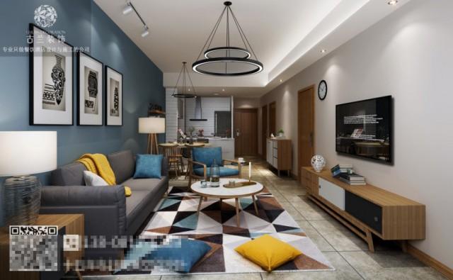房间中设有很多各种色调的天鹅绒沙发,墙面上铺设以摩洛哥般梦幻的水泥石砖,在搭配上明亮的光线,让任何细节都一览无遗的展示在人么眼前。