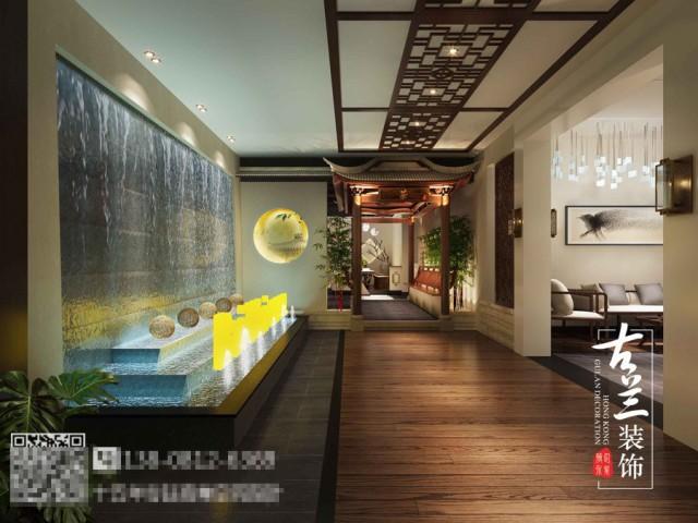 所以本案茶楼的设计是以简单时尚为主,使顾客在期间能感受到轻松和悠闲的感觉。