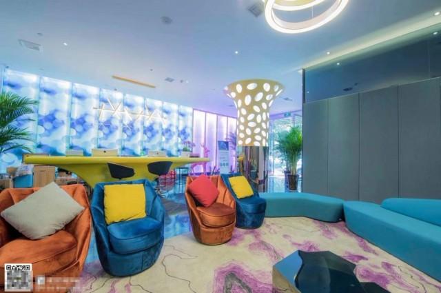西安精品酒店休闲区设计