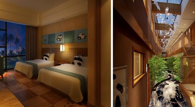 阆中酒店设计-红专设计 | 米瑞熊猫王子酒店