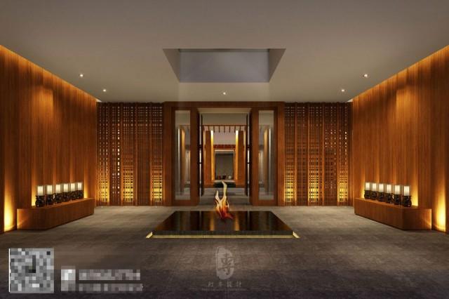 每一个有品质的酒店,都有自己独特的气质,酒店的入口是对外的形象展示,锅庄国际度假酒店门头的设计,蕴含了他的气质,流露出浓厚的历史文化韵味,尽显尊贵的气派。