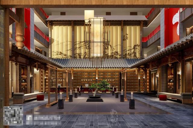 康定是茶马古道的重镇,茶艺区的设计诉说着茶马古道的历史与传说,一眼望去,仿佛看到的就是当时的情景。
