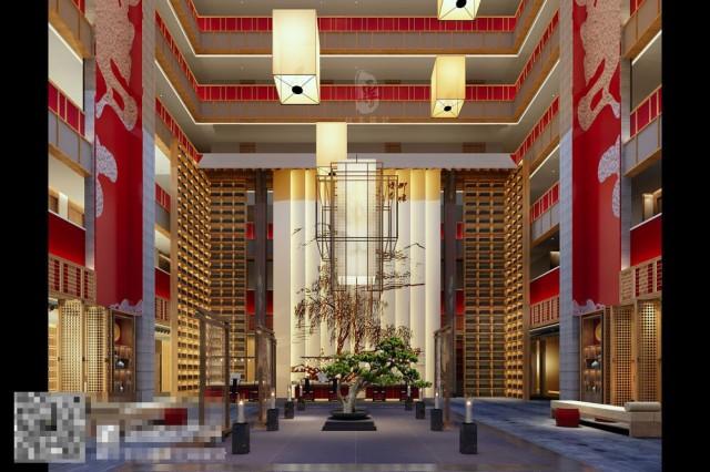 酒店天井的设计让整个空间活泼而富有情趣,站在中庭,举目四望,整个宇宙的日光月色尽收眼底,营造一种丰富的气氛,中庭中灯饰的设计,让整个空间更加通透,更加迷人。