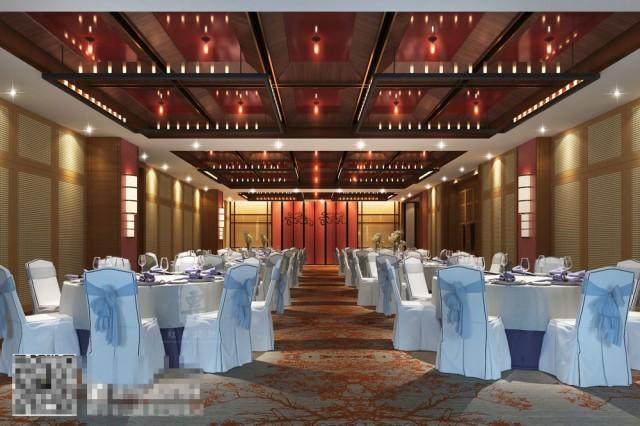 康定锅庄温泉度假酒店小会议室设计-自贡酒店设计公司