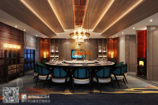 负一楼餐饮街区重现了茶马古道,在酒店将这种文化得以升华,让客人也能切身体会一次茶马文化