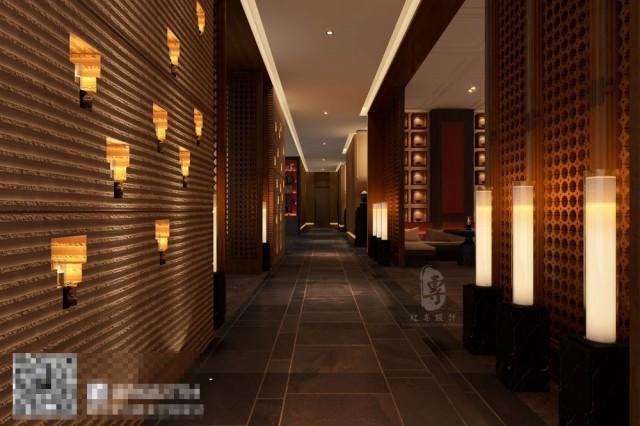开阔的酒店大堂,仿佛有进入另一个时空的感觉,整个空间将汉文化的中式之感,彰显的淋漓精致。