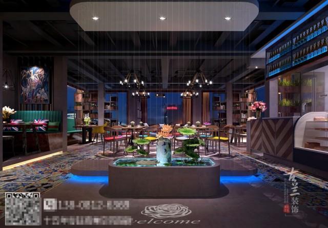 成都酒吧装修公司-西藏拉萨拉朵拉云酒吧设计效果图