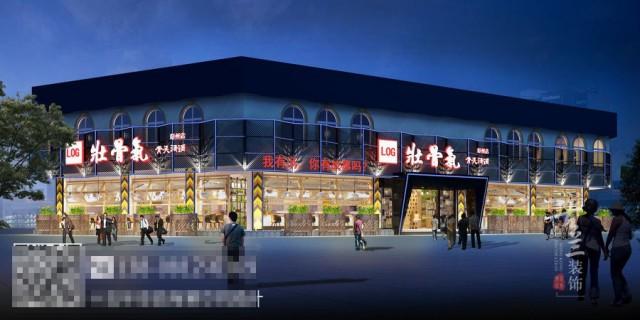 沈阳汤锅店设计公司-彭州壮骨气骨头汤锅店设计装修图,沈阳餐厅设计公司
