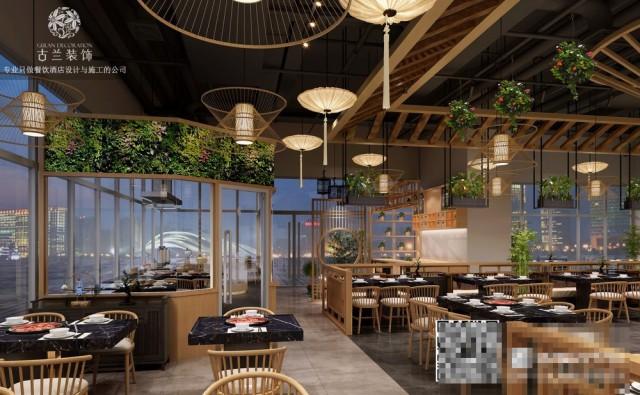这家火锅店坐落在成都武侯万达广场,菌林天下从外到内的每个细节被赋予了独特魅力。