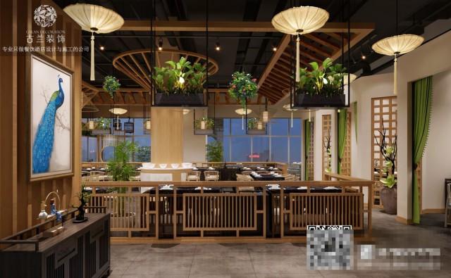菌林天下的装修设计看重整体的协调统一性,宽敞地过道以及良好的通风条件给顾客  创造了一个舒适的就餐环境;桌椅间的间距相对大一点,所以给人感觉比较舒服,不会拥挤的感觉。