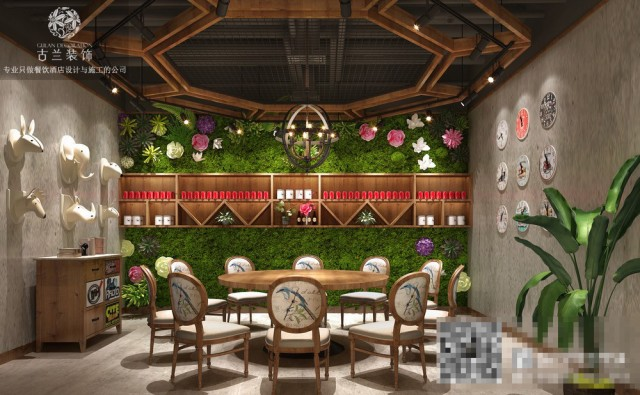 斧牛记养生牛肉汤锅店-贵阳餐厅设计公司-毕节专业酒店装修案例