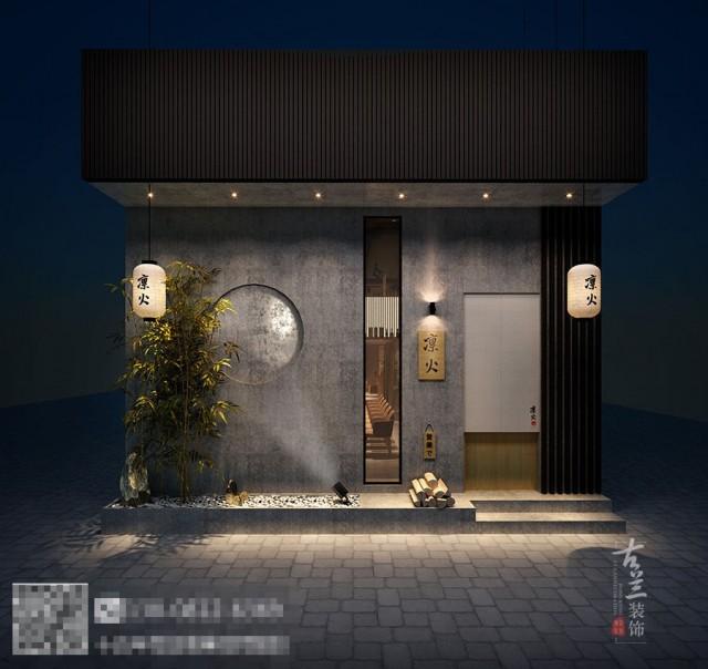 二楼榻榻米的设计为客人提供了舒缓和清新的空间,使人有种身临其境的感觉,尽享清新与浪漫。所用材料中的竹子,鹅暖石,木条隔断等细节元素,既有功能性,又有连贯的主题效果;所采用的简洁、质朴的材料如水泥,玻璃等,加入戏剧化的灯光效果,创造出现代简朴,个性鲜明,喜剧变换的禅式氛围。